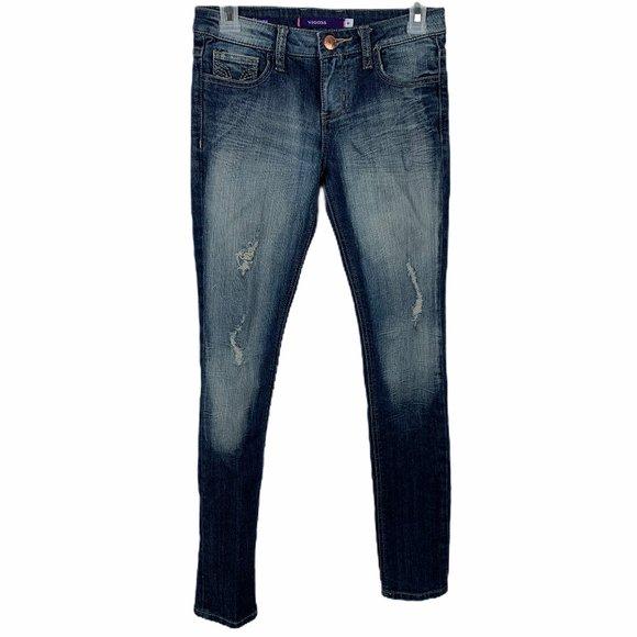 Vigoss Denim - Vigoss Distressed Skinny Jeans Size 0